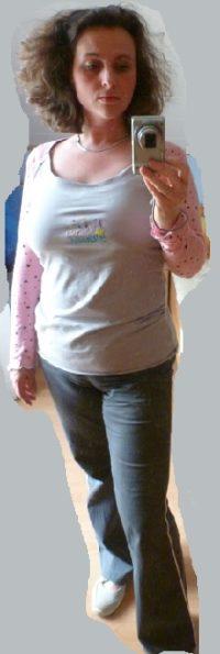 Nickikleid als Shirt