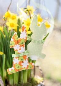 Blumenstecker Häschen