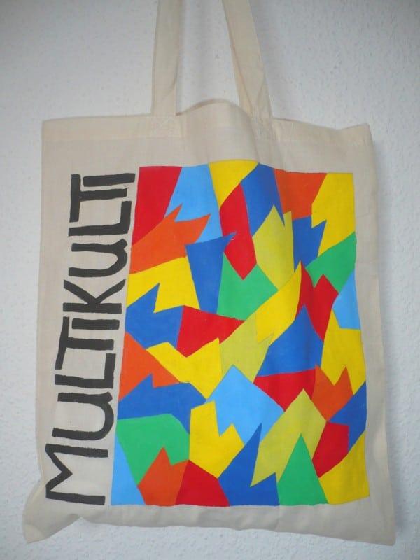 Eine Multikulti-Tasche