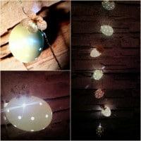Ostern bei Nacht! Eine gemütliche Osterlichterkette