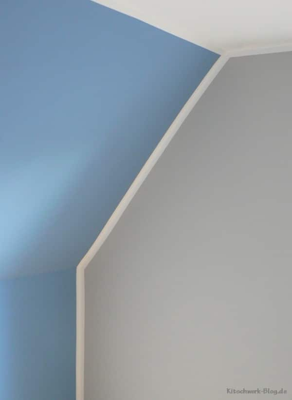 DIY: Wände farbig streichen - Der Trick