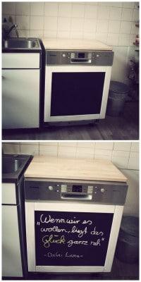 Verwandlung einer Spülmaschine