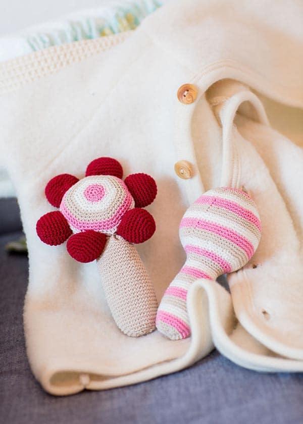 Babyrasseln Handmade Kultur
