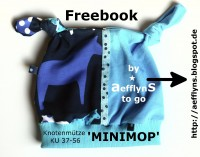 FREEBOOK Knotenmütze 'Minimop'