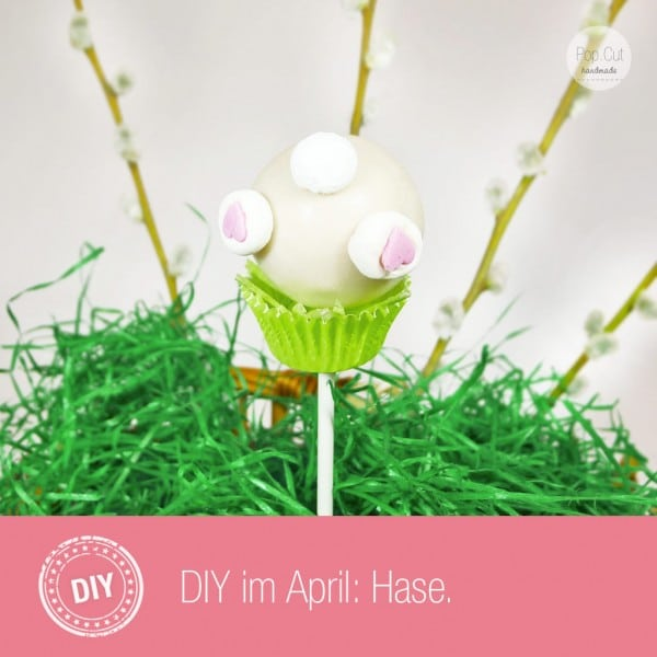 DIY Hasen Cake Pop