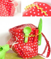 Eimertasche für Sandspielzeug - Freebook Mascha