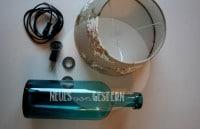 DIY Flaschenlampe