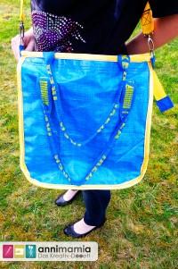 Ikea-Tüte wird zum schicken hosewear-Shopper