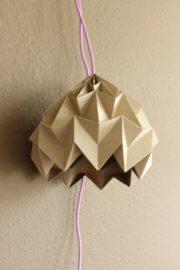 DIY ORIGAMI MAGIC BALL LAMP