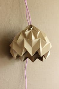 DIY ORIGAMI MAGIC BALL LAMP