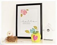 Frühlings-Print | Free Printable