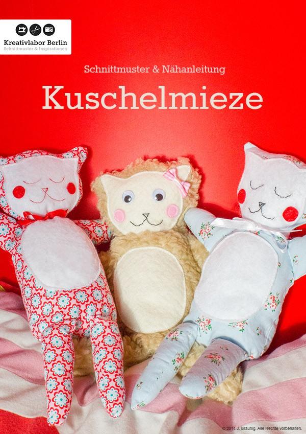 Schnittmuster & Nähanleitung Kuschelmieze