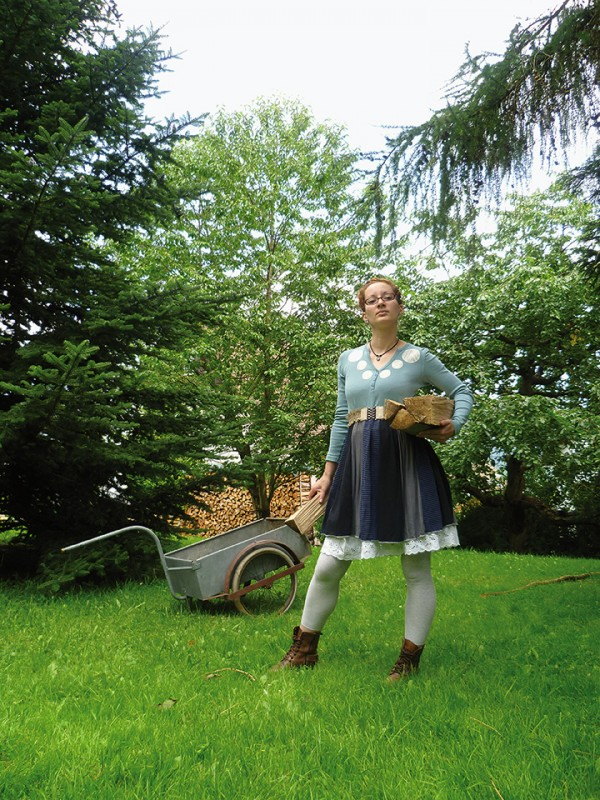 Das T-Shirt-Kleid Heiderose