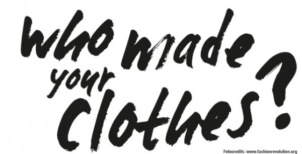 Who made your clothes?