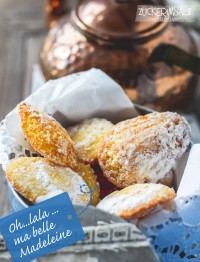 Oh lala ... ma belle Madeleines