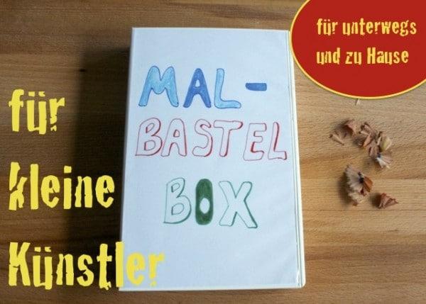 Mal- / Bastelbox aus einer alten VHS-Kassette