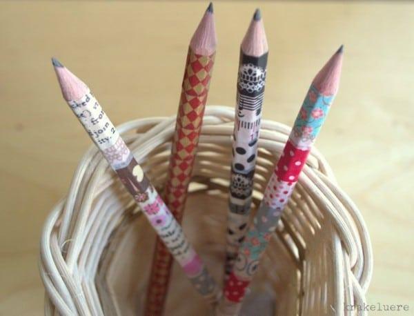 Kostümierte Bleistifte