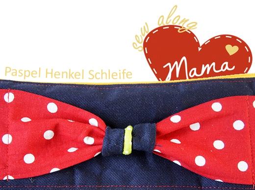 Sew Along Tag 2 - Paspel, Henkel und Schleife