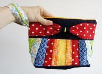 Sew Along Tag 4 - Clutch zusammenstellen