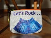 Upcycling- Täschlein aus Plastiktüten