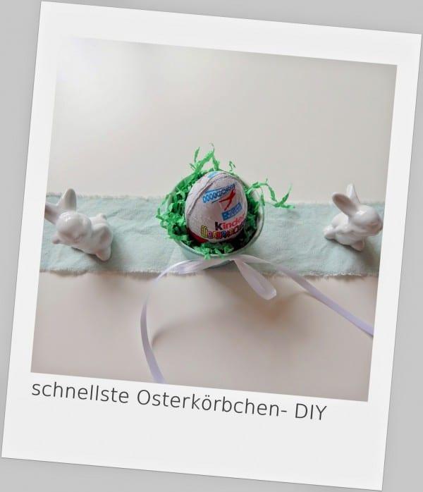 schnellste Osterkörbchen- DIY