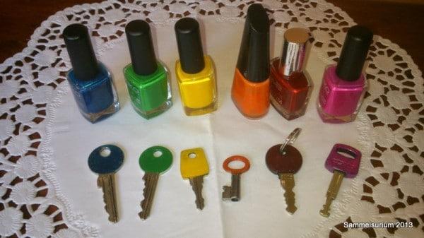 Schlüssel-Bunt!