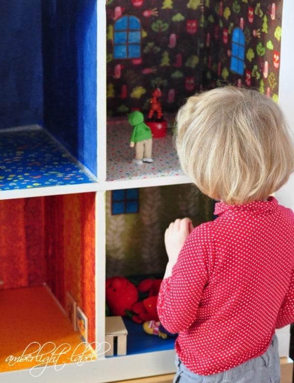 Ikea hacker: Expedit DIY Puppenhaus