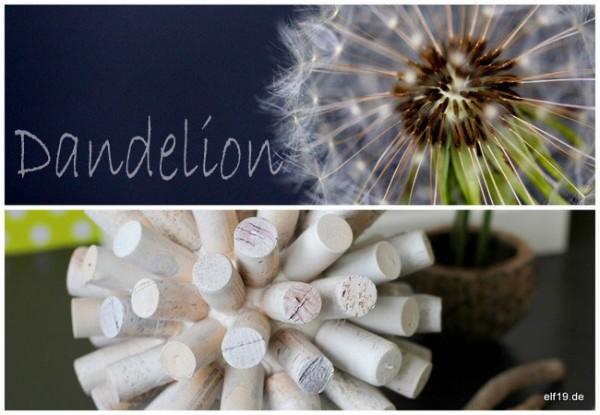Upcycling: Kugel aus Weinkorken
