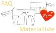 FAQ und Materialliste zum Muttertags Sew Along