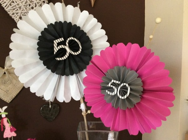 50iger geburtstagsdeko handmade kultur for Deko 30 geburtstag selber machen