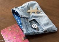 Upcycling-Jeans-Täschchen