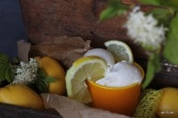 Lecker: Lemon Frozen Yoghurt