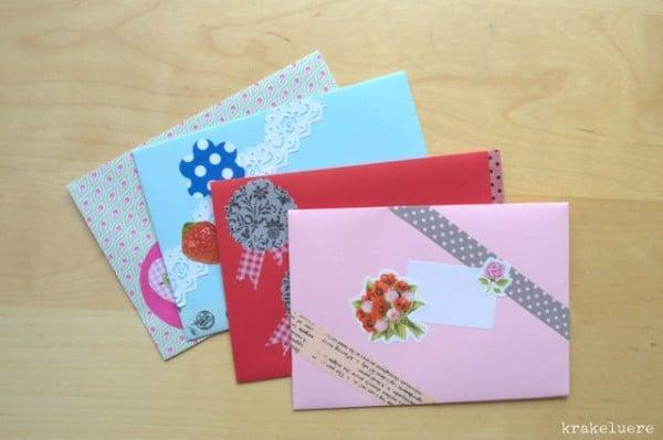 Macht eure Briefumschläge selbst!