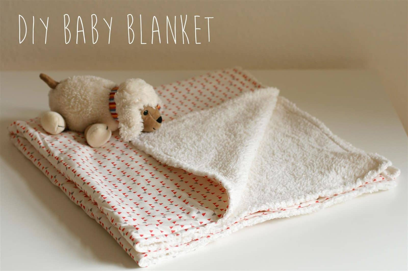supereasy babydecken diy handmade kultur. Black Bedroom Furniture Sets. Home Design Ideas
