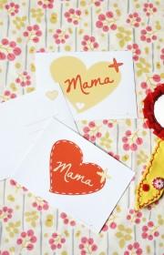 Postkarte: An meine liebste Mama