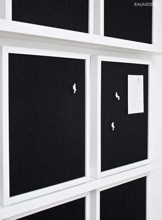 eine pinnwand ist schnell selbst gemacht handmade kultur. Black Bedroom Furniture Sets. Home Design Ideas
