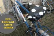 DIY: Fahrradsattelschutz