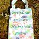 Stoffbeutel / Stofftasche aus Geschirrtuch genäht