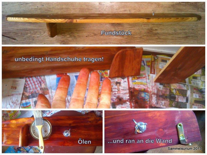 Holzbearbeitung DIY - Schleifen, Beizen, Ölen - HANDMADE Kultur