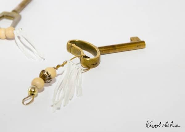 Vom Ohrring zum Schlüsselanhänger