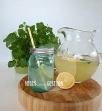 Zitronenlimonade selbst gemacht