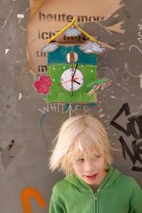 Guerilla Clocking: Wir basteln eine Frühlingsuhr!