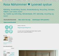 Rosa Nähzimmer ♥ Lyserød systue