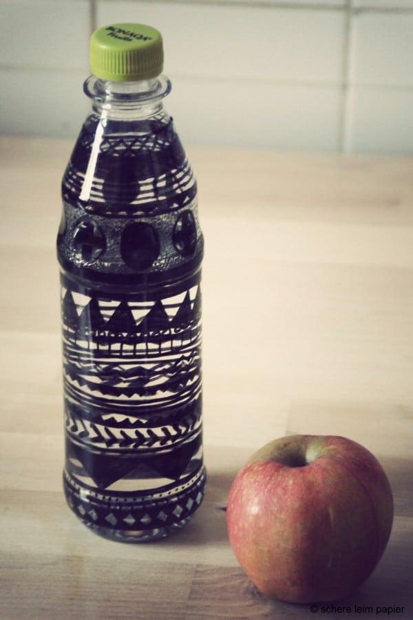 Flaschenkunst für unterwegs