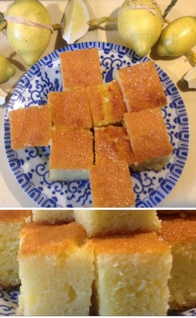 Zitronen-Jogurth-Grieß-Kuchen