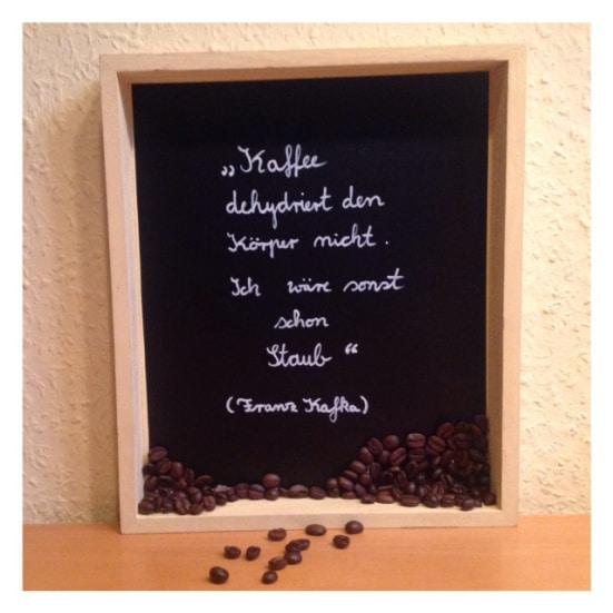 Kaffee & Kafka in der Kiste