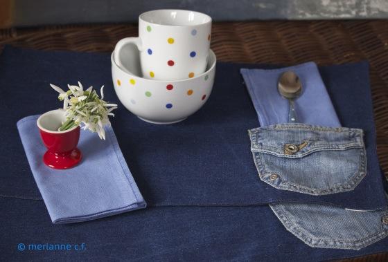 Blaues Frühstück
