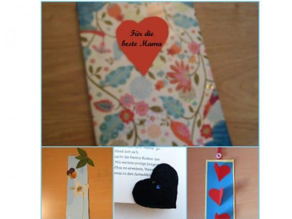 Muttertagsgeschenk: Tolles Buch mit Lesezeichen