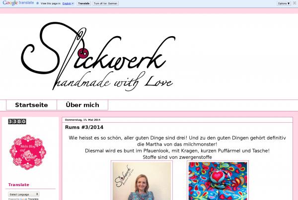 www.stickwerk.blogspot.de