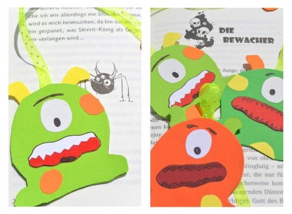 Die Bewacher für jedes Buch - Monster Lesezeichen